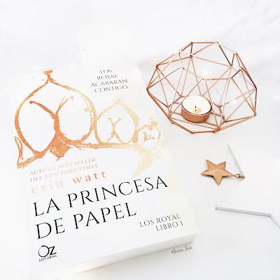 Resultado de imagen de reseña la princesa de papel