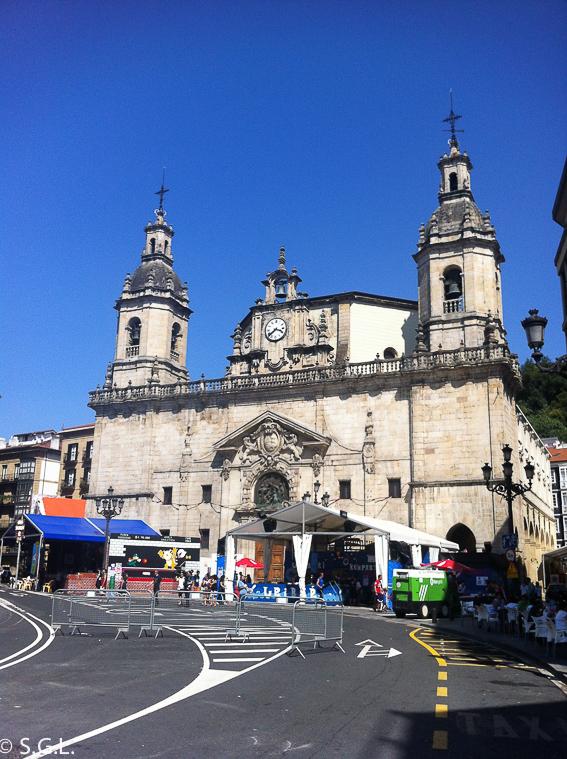 Parroquia de San Nicolas en Bilbao en bilbao por una bilbaina