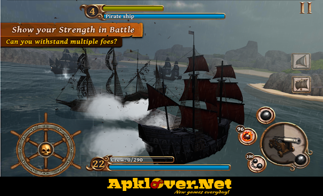 Ships of Battle Age of Pirates MOD APK unlimited money
