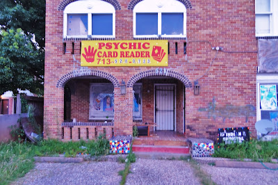 "528 Westheimer Rd ""PSYCHIC CARD READER"" - Building demolished in 2015"