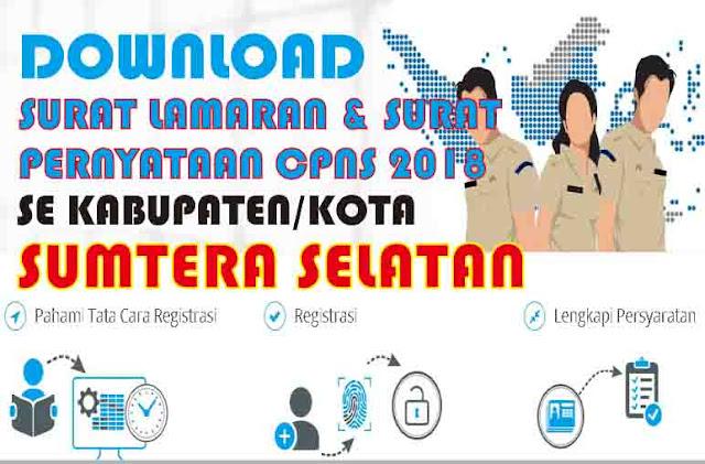 download surat lamaran cpns 2018 sumatera selatan pdf