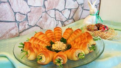 Ideje za Uskrs ( Punjene uskršnje mrkve ) / Tasty Easter ideas ( Carrots for Easter )