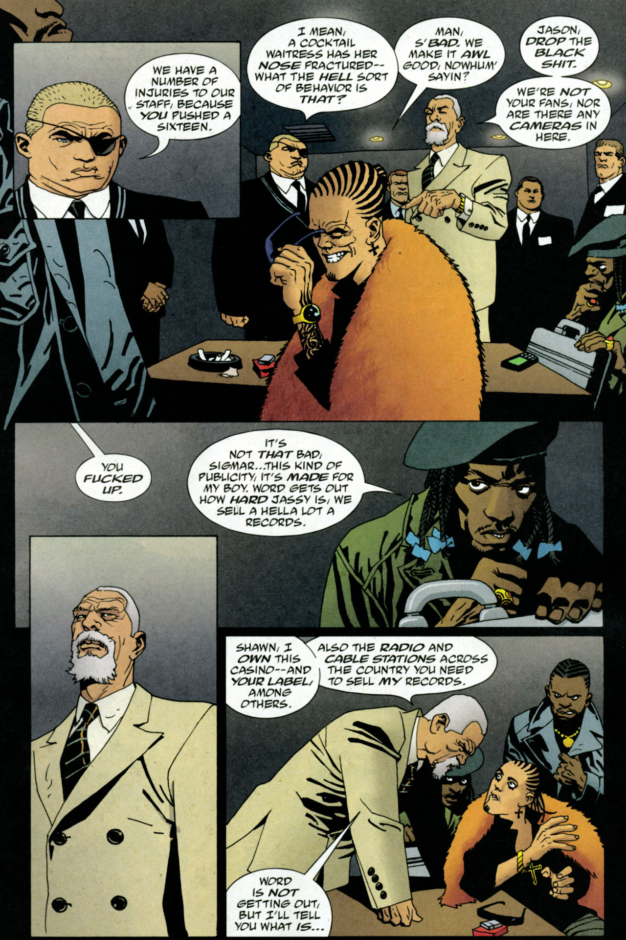 Read online 100 Bullets comic -  Issue #84 - 4