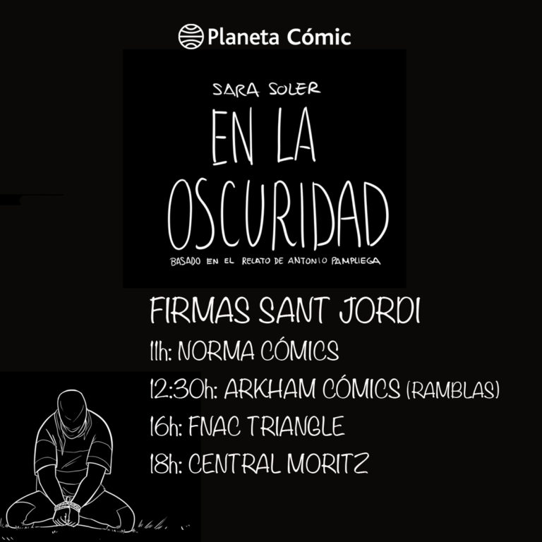 Firmas de Sara Soler por Sant Jordi.