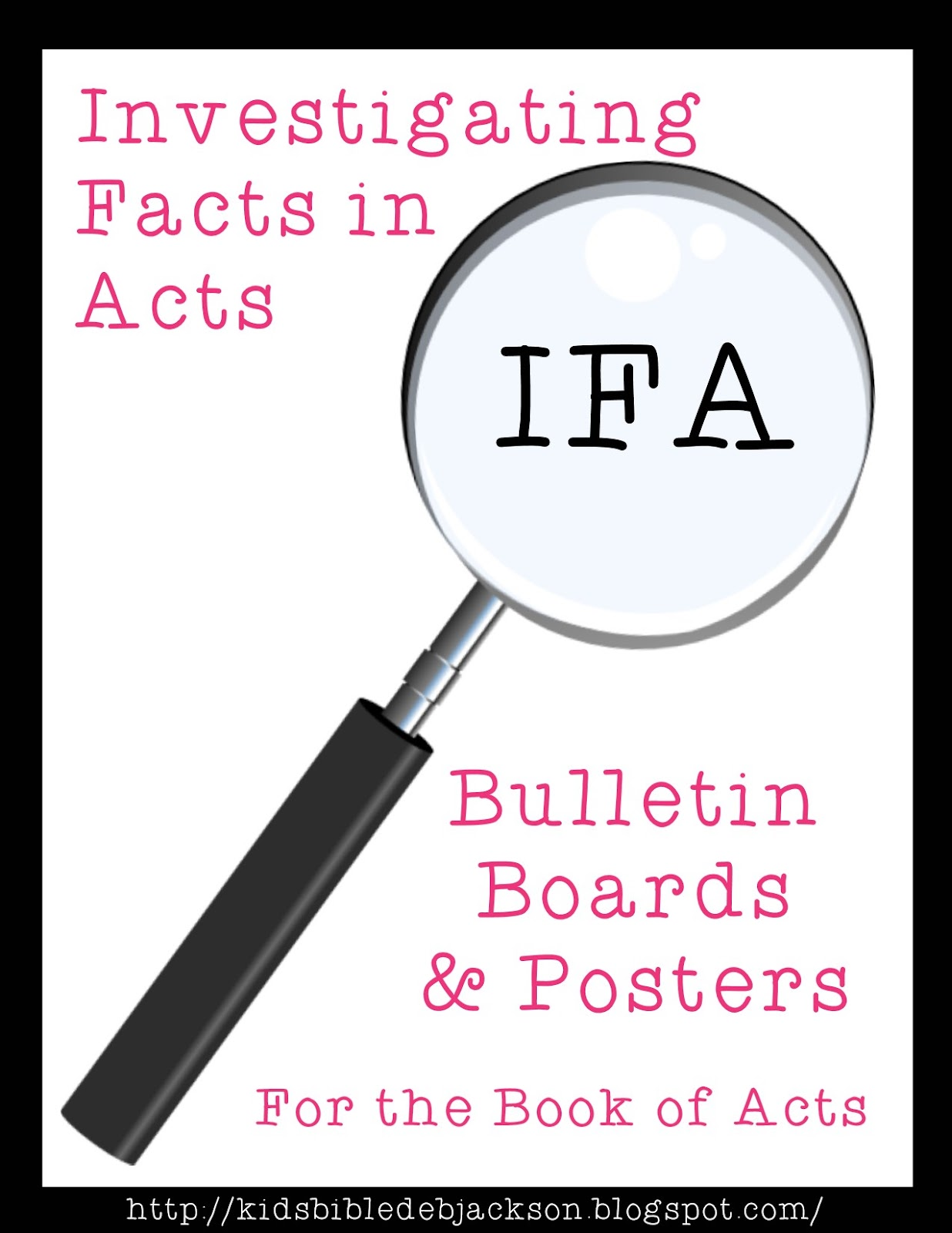 Bible Fun For Kids Investigating Facts In Acts Bulletin