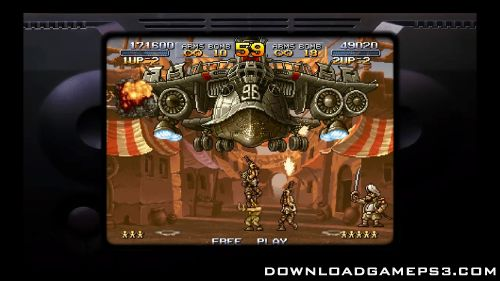Metal Slug Anthology - Download game PS3 PS4 RPCS3 PC free