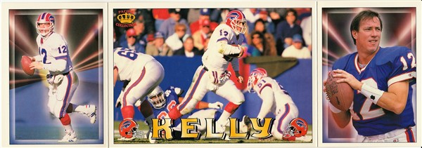 1994 Triple Folders Jim Kelly inside