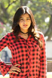 Actress Hebah Patel Stills in Blue Denim Jeans at Nanna Nenu Naa Boyfriends Movie Success Meet  0030.JPG