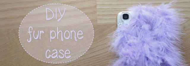 diy do it yourself fur phone case
