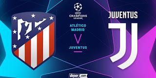 متابعة مباراة أتلتيكو مدريد و يوفنتوس مباشر