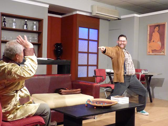 """Πρεμιέρα με μεγάλη επιτυχία και άφθονο γέλιο στο """"Δείπνο Ηλιθίων"""" της Θεατρικής Ομάδας Καββαδία"""