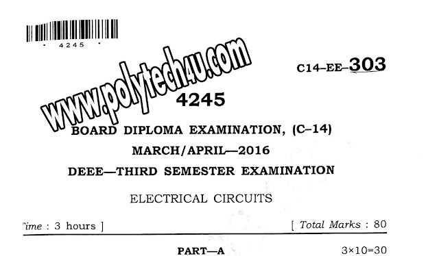 303-Electrical Circuits old questionpapers