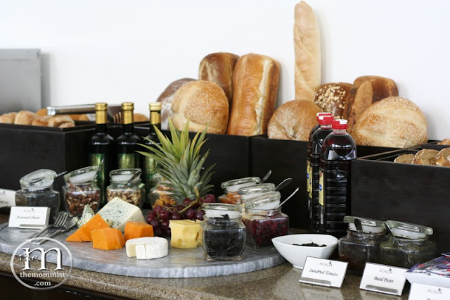 Bread and Cheese Buffet Station