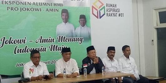 Eksponen Alumni HMI Deklarasi Dukung Jokowi-Ma'ruf Amin