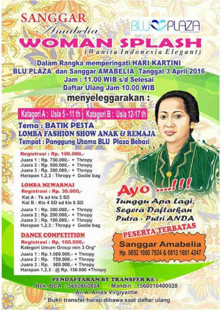 Lombaanak Com Pfenix Lomba Hari Kartini 2016 Di Blu Plaza Bekasi