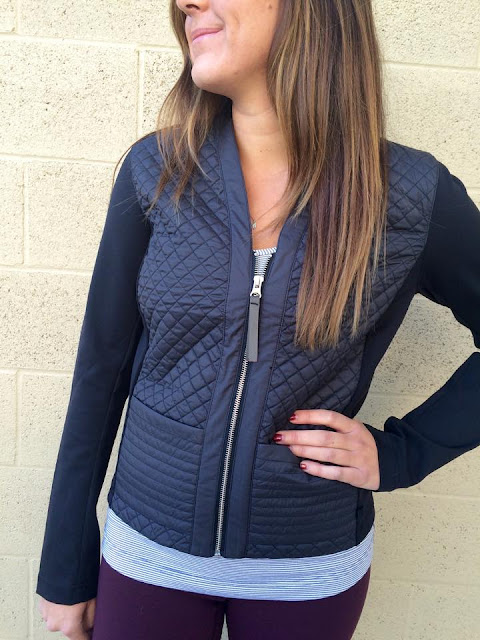 lululemon cardigan and again jacket