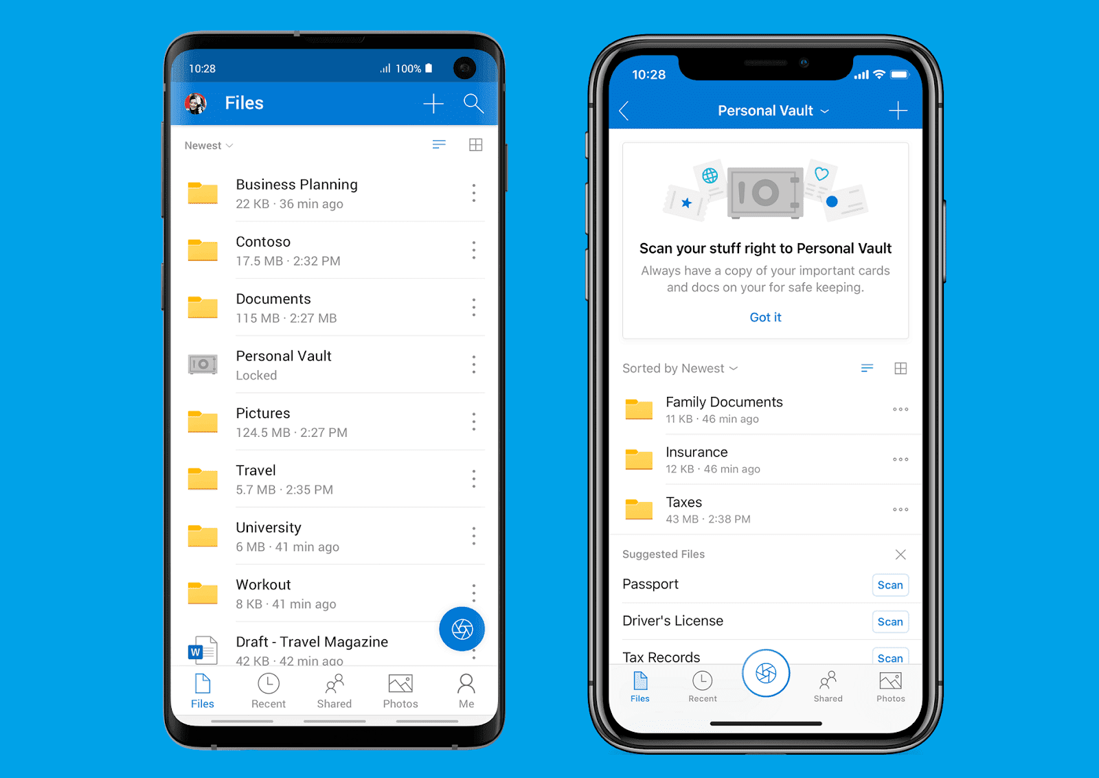 OneDrive Private Vault: Microsoft making the lifetime of its
