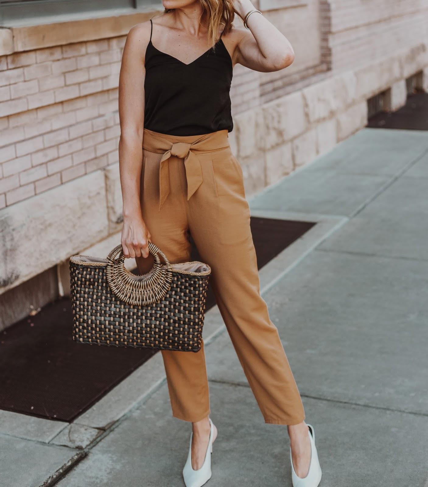 Trend Alert: Paperbag Waist Pants