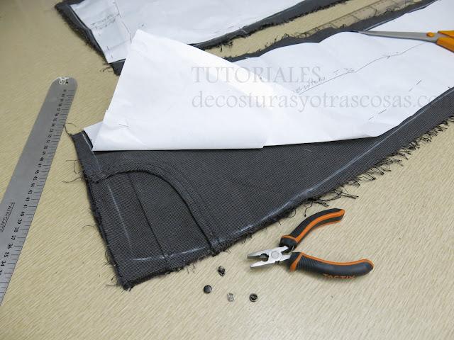 tutorial paso a paso adaptación de un pantalón