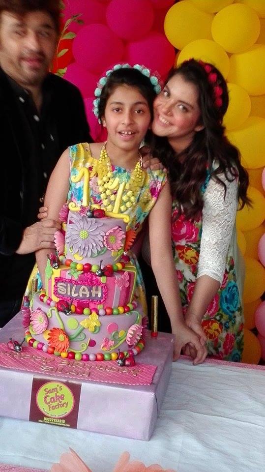 Nida Yasir Daughter Silah Yasir Birthday Latest Clicks 2016