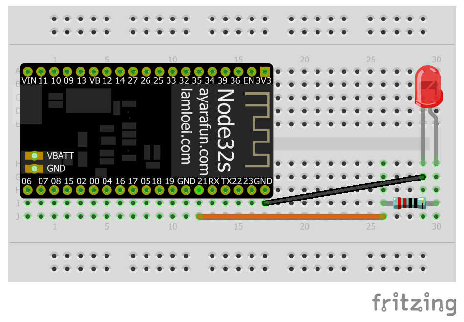 Arduino-er: ESP32 Simple Web Server to control external LED