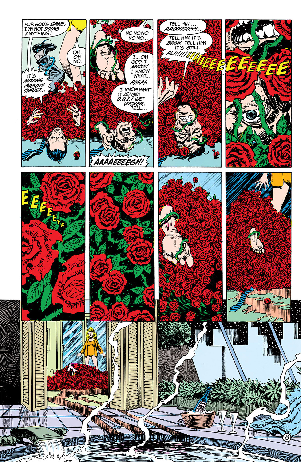 Swamp Thing (1982) Issue #63 #71 - English 8