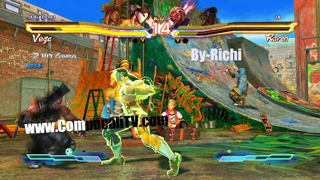 Capturas propias Street Fighter X Tekken PC Full