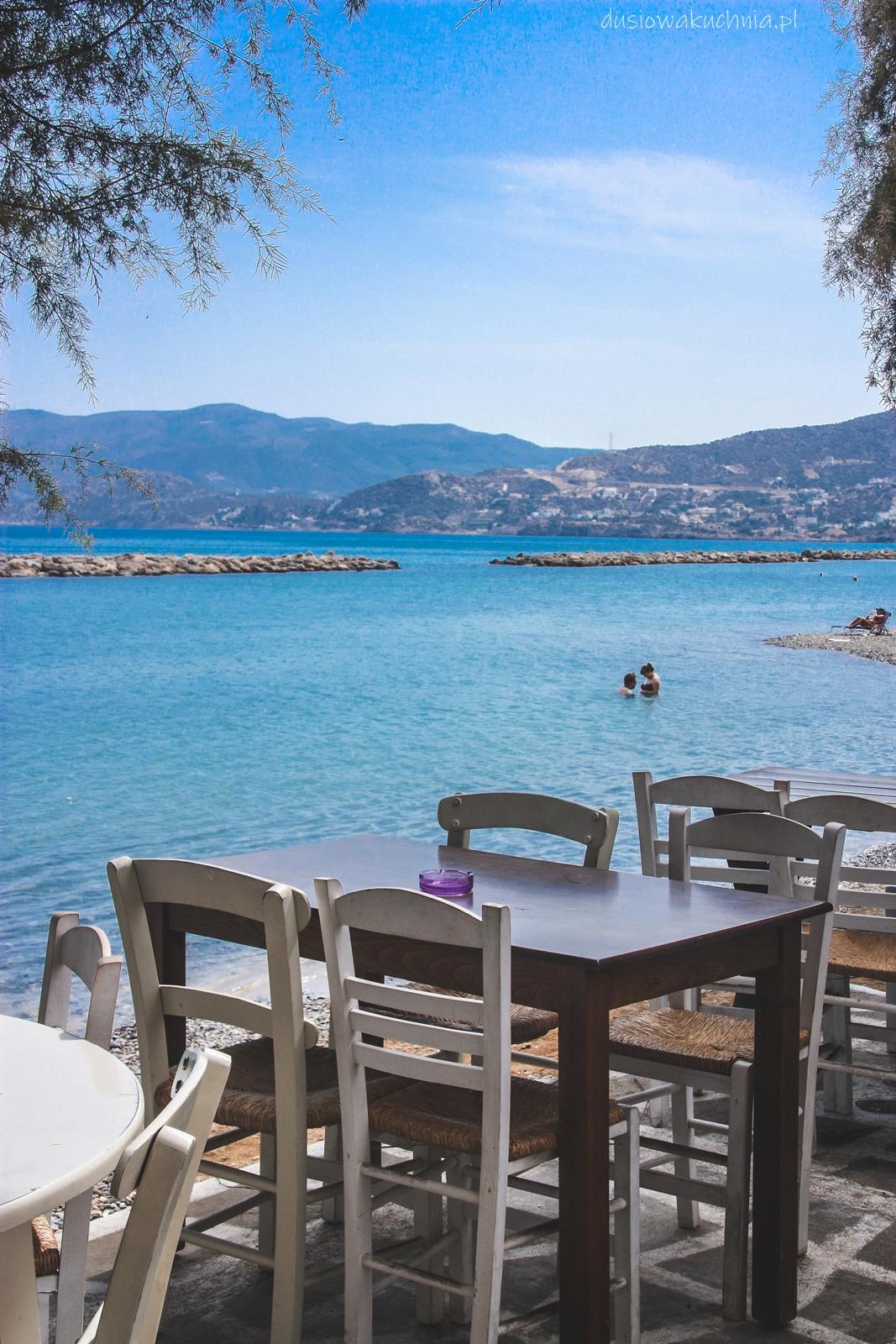 Dobra restauracja w Agios Nikolaos (Kreta)