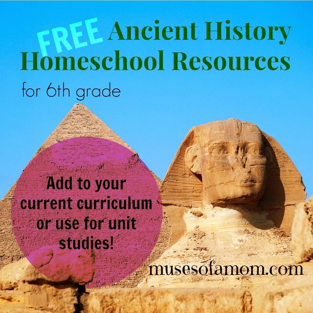 Homeschooling 6th Grade Ancient History
