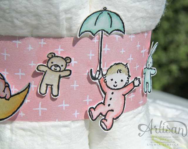 Moon Baby-Stampin Up