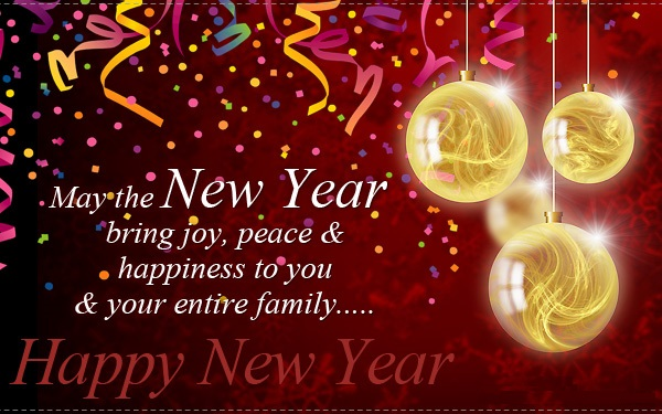 Happy New Year 2018 Wishes Quotes for Facebook Status