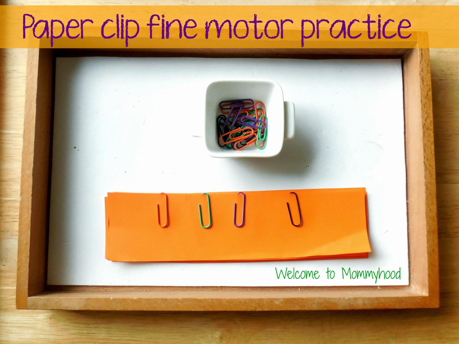 Fine motor activities for preschoolers (and toddlers) by Welcome to Mommyhood #Montessori #FineMotorActivitiesforPreschoolers #Totschool
