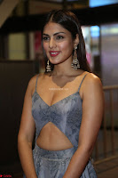 Rhea Chakraborty in a Sleeveless Deep neck Choli Dress Stunning Beauty at 64th Jio Filmfare Awards South ~  Exclusive 114.JPG