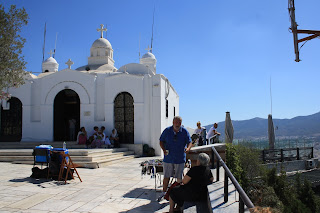 athens sightseeing mount lycabettus view