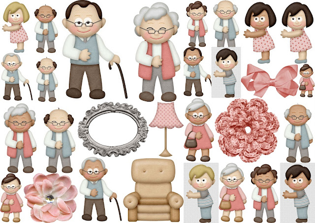 Grandparents Clip Art.