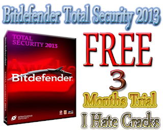 Bitdefender Total Security 2013 Free Download With 3 Months Trial