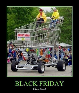 black friday crowd memes