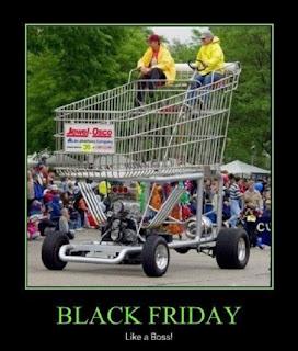 black friday crowd memes