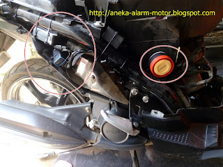 Cara pasang alarm motor pada Yamaha X-Ride