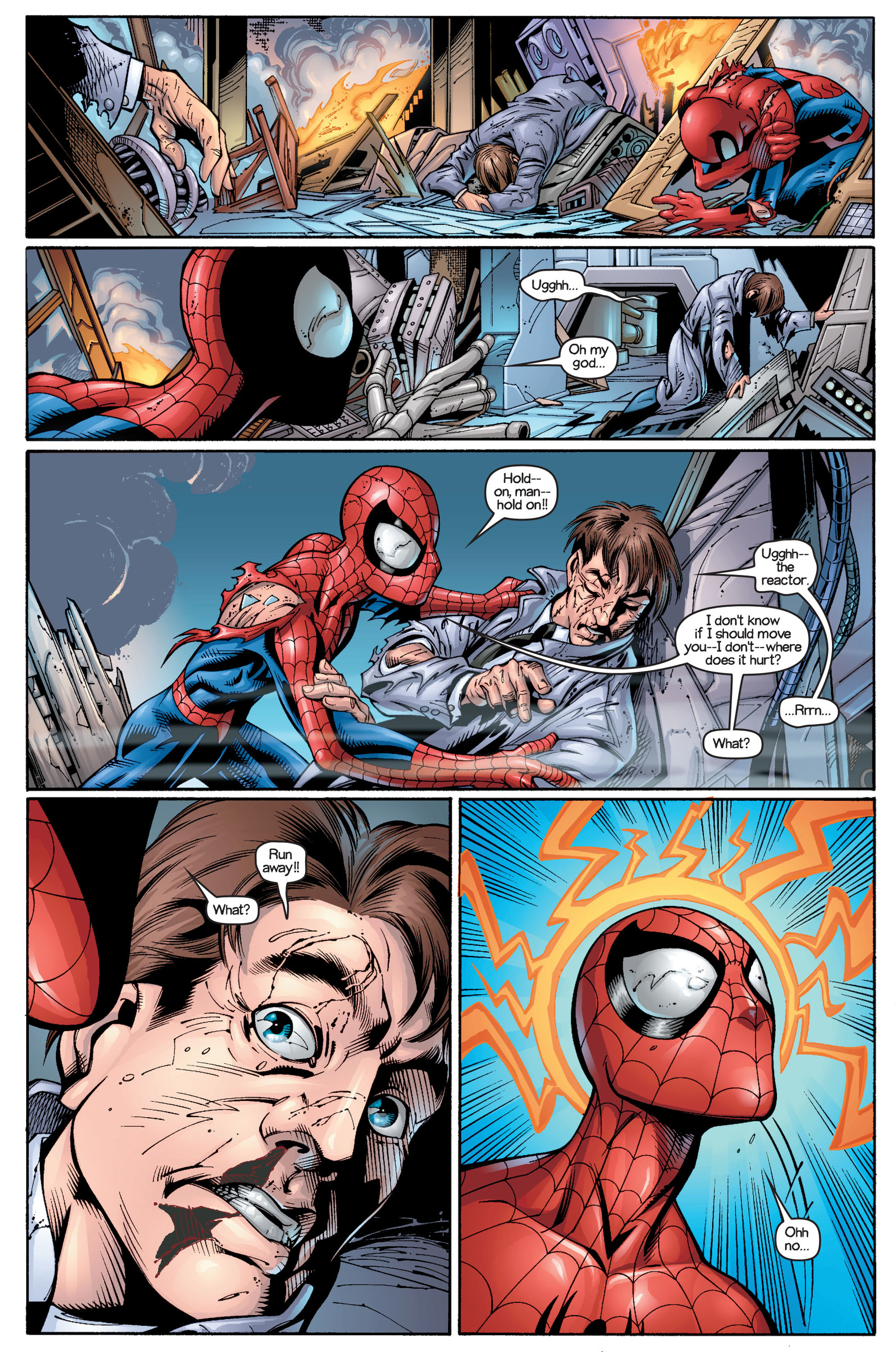 Read online Ultimate Spider-Man (2000) comic -  Issue #18 - 2