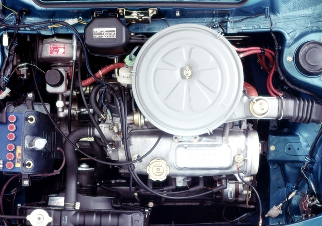 Honda Civic CVCC First Generation 5-door engine