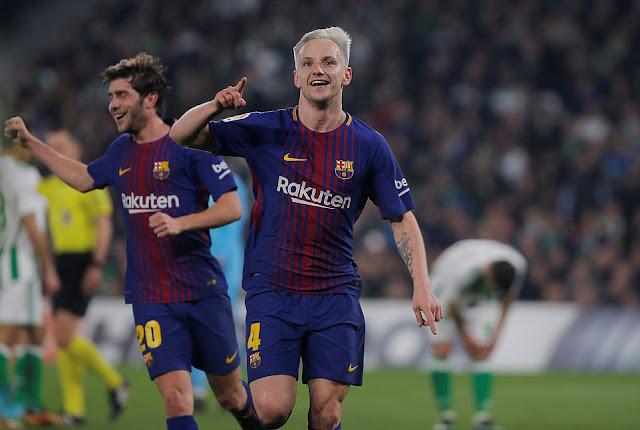 Rakitic puas dengan permainan Barcelona