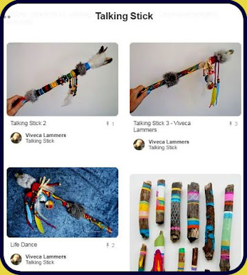Talking Sticks on Pinterest