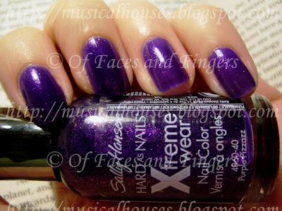 Sally Hansen Purple Pizzazz