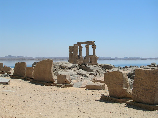 Quiosco de Kertassi (Lago Nasser)