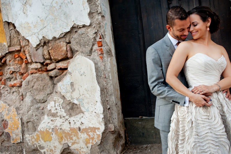 BRIDE CHIC: REAL WEDDINGS: KRISTIAAN AND LIONEL TIE THE