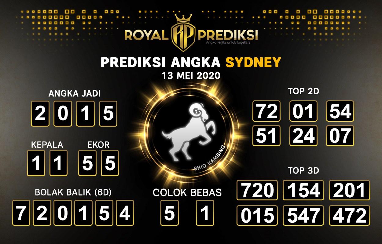 royal prediksi angka sydney