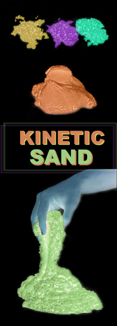 glow in the dark kinetic sand growing a jeweled rose. Black Bedroom Furniture Sets. Home Design Ideas