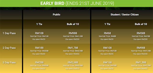 2019 Borneo Jazz Festival Tickets