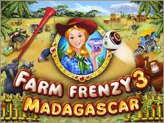 Free Download PC Game Farm Frenzy 3 Madagascar - Mediafire 71 MB